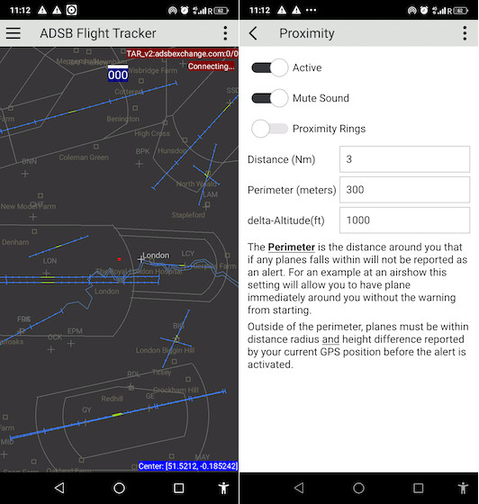 ADSB flight tracker