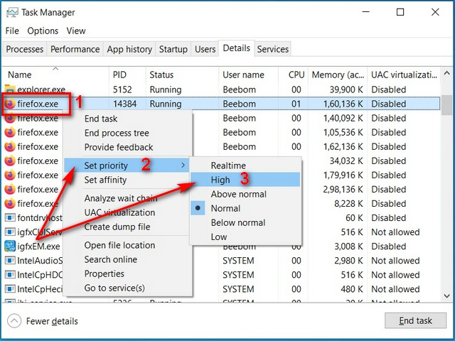 allocate more ram to specific apps