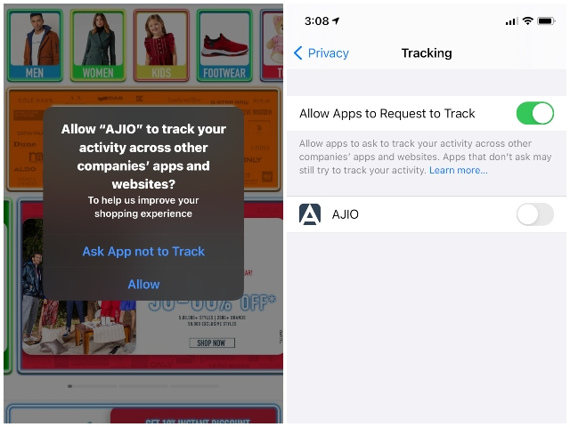 Apple announces app tracking transparency