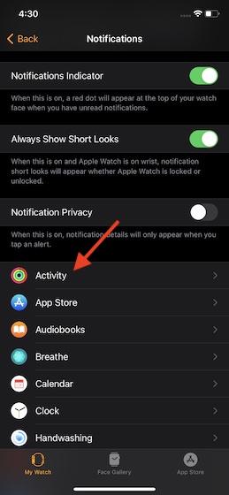 Choose the app