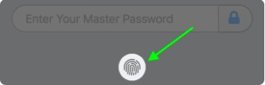Click on Touch ID