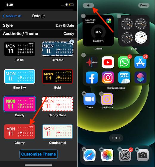 Create custom widget