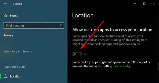 How to Disable Location Tracking in Windows 10