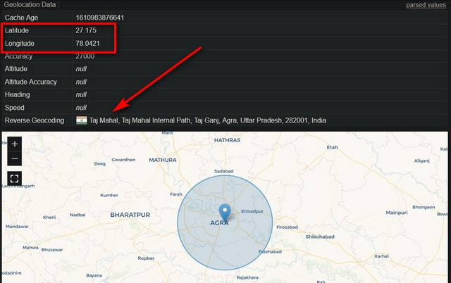 Fake Geo-location in Mozilla Firefox