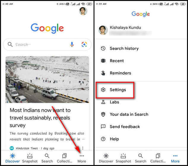 Enable or Disable Google SafeSearch on Android