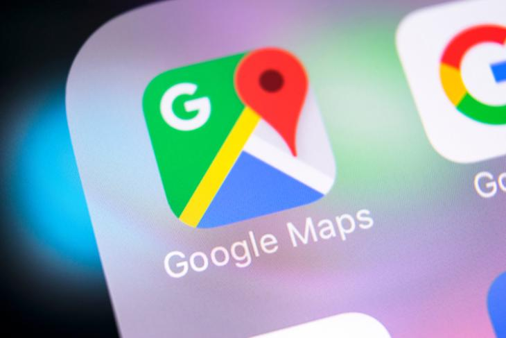 Google maps improved transliteration