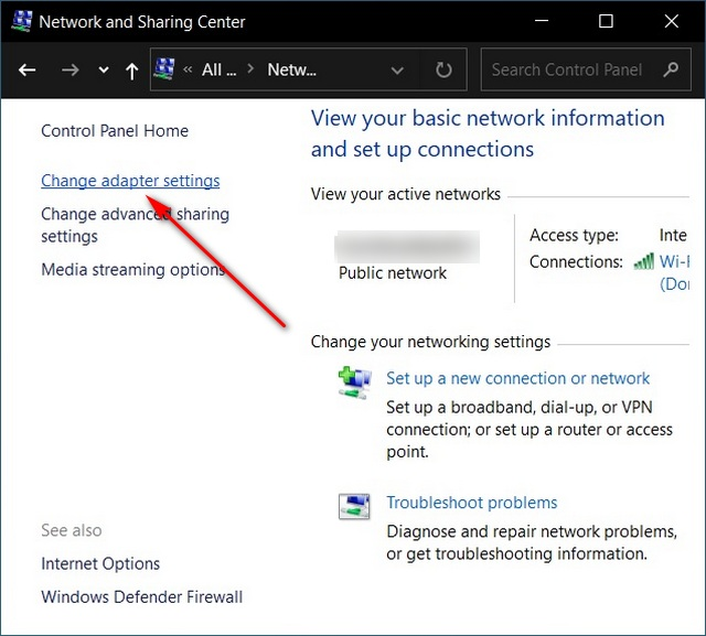 How to Change DNS in Windows 10