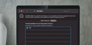 How to Prevent Spotlight from Searching Specific Locations on Mac