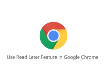How to Use Read Later Feature in Google Chrome