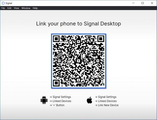Signal App Desktop