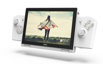 Lenovo Lavie mini concept laptop game console