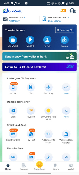 Mobikwik UPI App