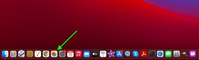 Откройте приложение Фото на вашем Mac