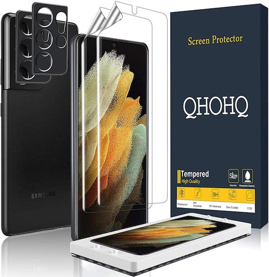 QHOHQ 2 Pack Screen Protector
