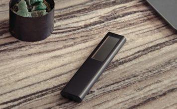 Samsung Eco Remote with solar panel