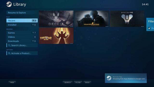 Stream Steam Games on Your Chromebook With the Steam Link App (Play Store Support Required)