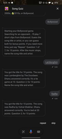 Songs Quiz