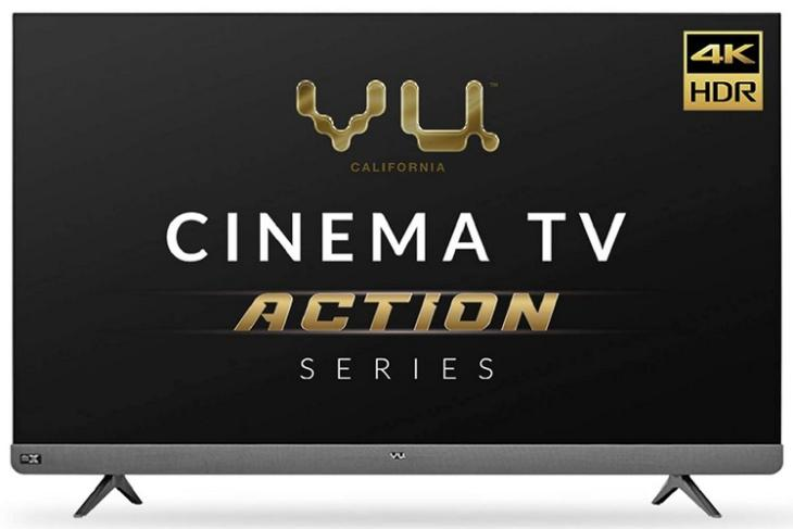 Vu launched two new 4K smart TVs
