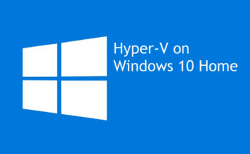 How to Install Hyper-V on Windows 10 Home