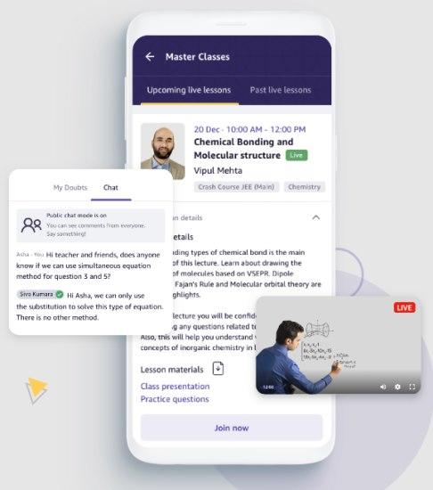 amazon academy app - JEE preparation