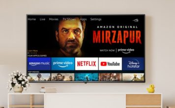 amazon basics smart TV india launch