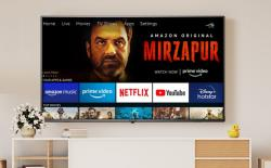 amazon basics smart TV india launch