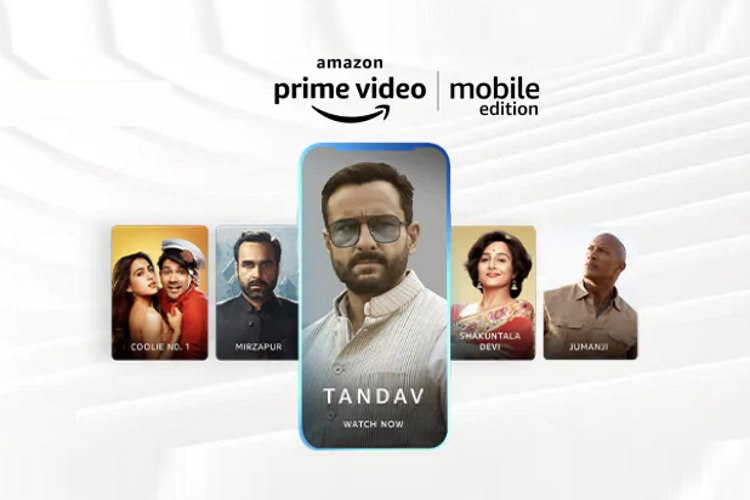 Amazon Prime Video Started its Mobile Edition Rs. 89/ Month