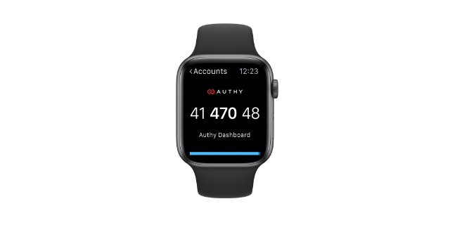 authy apple watch