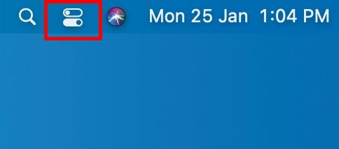 control center menu bar icon
