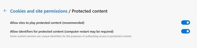 включить защищенный контент в браузере