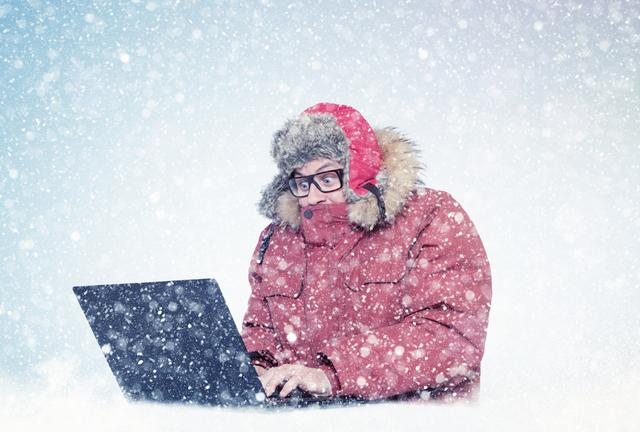 frozen computer