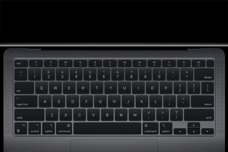 how adjust keyboard brightness m1 macbook air pro