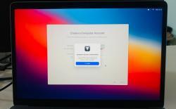 how to fix computer account creation failed error in m1 mac