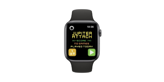 jupiter attack apple watch