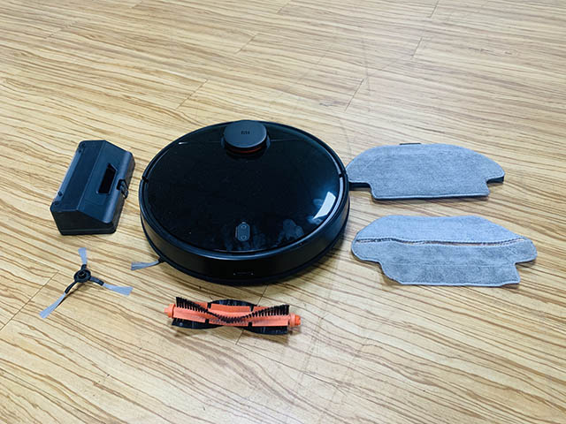 mi robot vacuum mop p whats in the box