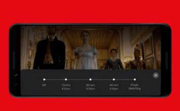 netflix tests sleep timer on android