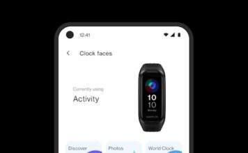 oneplus band design revealed in oneplus health app