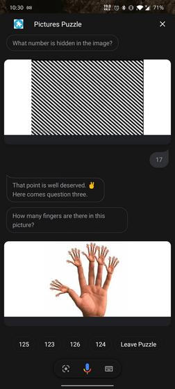 pictures puzzle google assistant