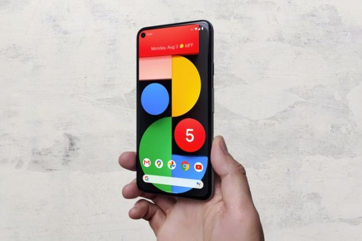 pixel 5 - android 12 new theming engine