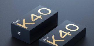 redmi k40 box - no charger