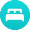 apple watch blue bed icon meaning