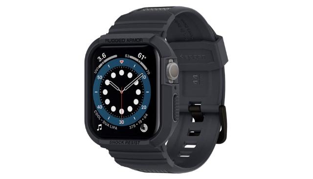 spigen rugged armor pro band apple watch series 6