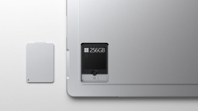 surface pro 7+ removable SSD