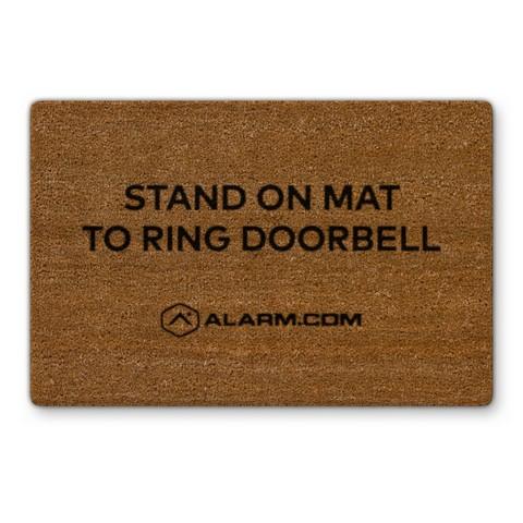 touchless video doorbell alarm.com