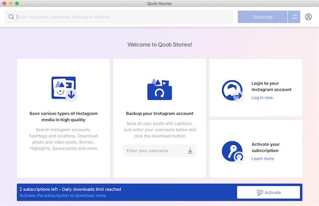 user interface 1