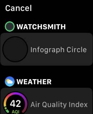 watchsmith apple watch