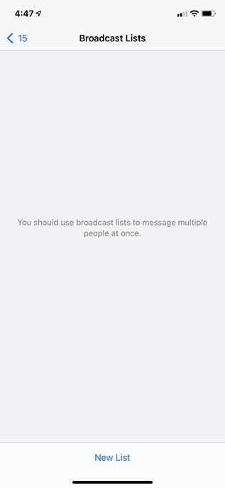 μηνύματα μετάδοσης whatsapp