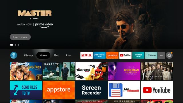 Record the Screen on Fire TV Stick (2021)