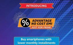 Amazon Launches 'Advantage No Cost EMI' Scheme for Prime Members