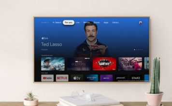 Apple TV+ arrives on Google TV